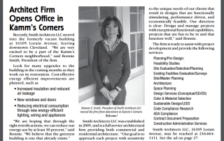 Smith Architects LLC Opens in Kamms Corners